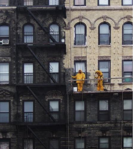 Powerwashing in Manhattan